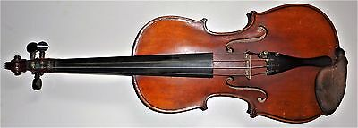 Nice old full size violin ( paper label marked- COPY OF NICOLAUS AMATI ...)