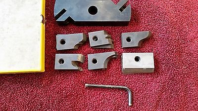 Vintage DeWalt #6479 Shaper Set inc #6480 head w/6 sets of cutters