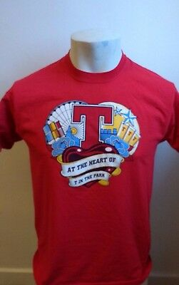 T in the Park red Tshirt size Medium
