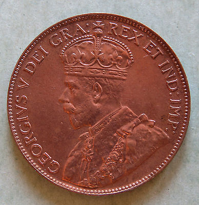 1920 Red Canada Large Cent * Very Nice Looking Coin!
