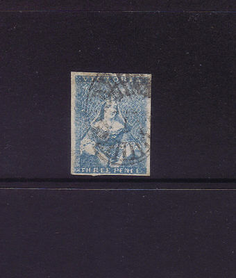 VICTORIA 1850 3d HALF LENGTH 2nd State SG 7,SUPERB VFU.Ex Pack cv £190