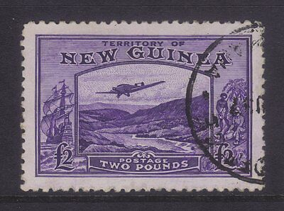 New Guinea Sg 204; £2 Bulolo Superb VFU.**SCARCE**