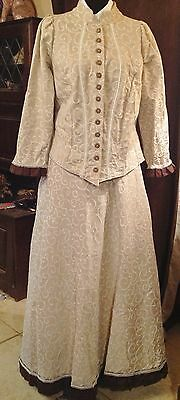 Ladies Day Suit Victorian Western or Forties Style Re-enactment