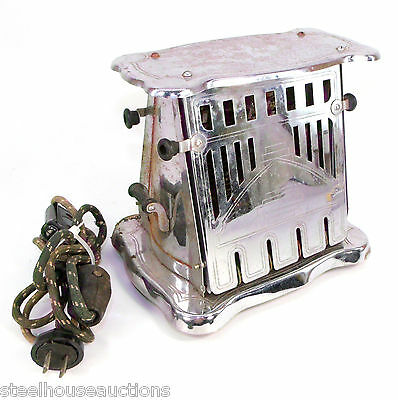 Antique Bersted MFG Co Model No 74 Dual Door Electric Bread Toaster - For Parts