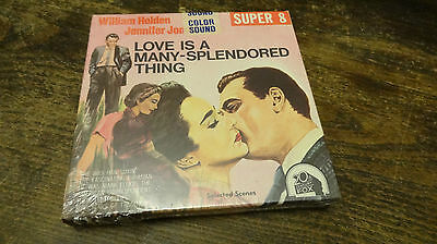 super 8 mm film LOVE IS A MANY SPLENDORED THING  sound color