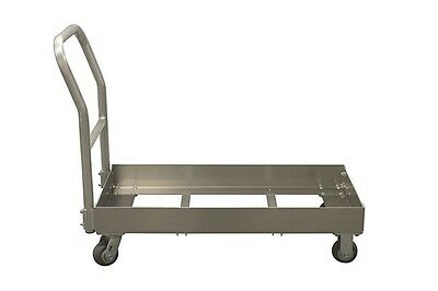 """Double Chill Tray Dolly WITH Handle 22"""" x 37"""" x 46"""""""