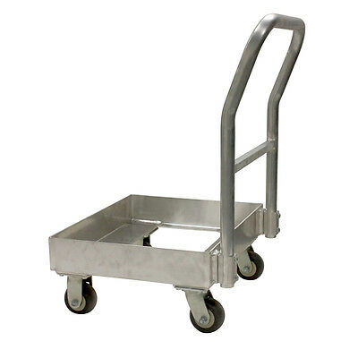 """Single Chill Tray Dolly WITH Handle 22"""" x 37"""" x 25"""""""