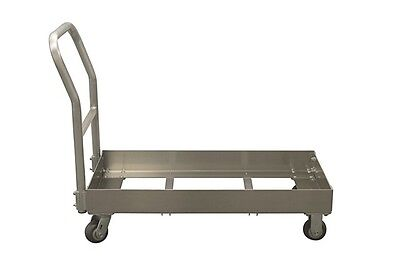 """Double Chill Tray Dolly W/O Handle (Pictured with Handle) 22"""" x 10"""" x 39"""""""