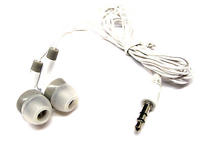 From OZ 1PC Stereo Earphones Eadbuds 3.5mm 1/8 Audio Jack Cord Lead Portable +FP