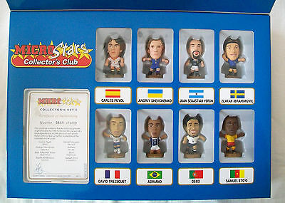 Microstars COLLECTOR'S SET No. 5 - SPECIAL 8 FIGURE GIFT BOX SET Issued 2006