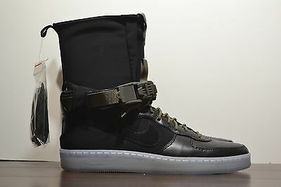 release date 6f79d ce7fb NEW MENS NIKE x Acronym Air Force 1 Downtown Hi SP Black Olive High  649941‌-‌003
