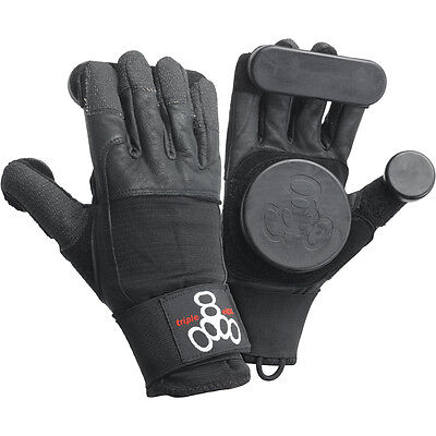 """Triple 8 """"sliders"""" Longboard Gloves - Top-End Quality, Protection & Style!"""