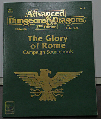 Glory of Rome Campaign Book AD&D 2nd edition!  Very Nice!!