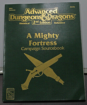 A Mighty Fortress Campaign Book AD&D 2nd edition!  Very Nice!!