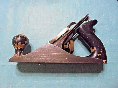 Stanley Bailey No.3 Wood Plane - Old Wood Working Tool - Made In U.s.a.