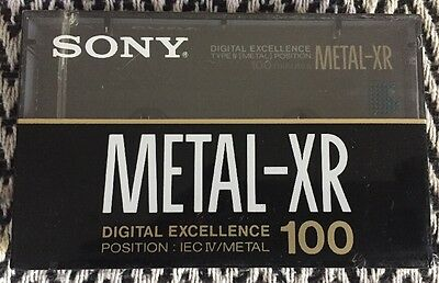 New Sealed SONY METAL-XR 100 TAPE