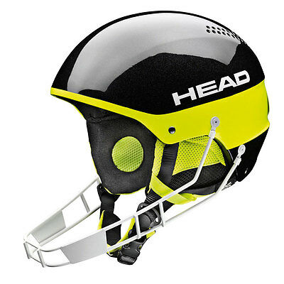 2015 HEAD Stivot Youth SL Helmet + Chinguard Black M/L 328204