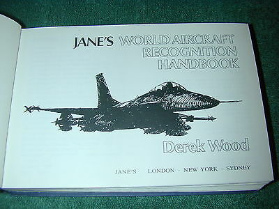 Janes World Aircraft : Recognition Handbook 1979 edition 512 pages
