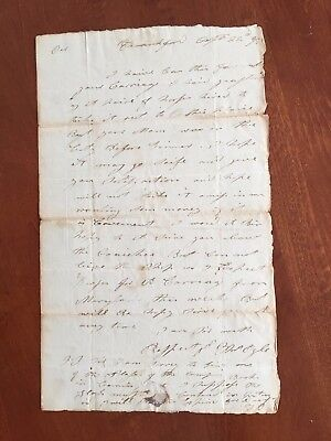 1796 Frankford Pennsylvania Thomas Ogle Carriage Maker Stampless Letter ALS