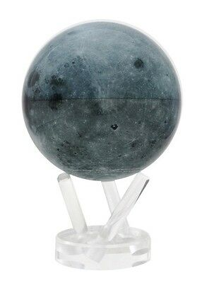 "MOVA Globe- The Moon -15cm/ 6"" - self rotating sphere"
