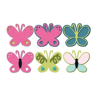Sizzix Cut Emboss & Stencil Thin Die ~Butterfly Code 559596 (Special Was $26)