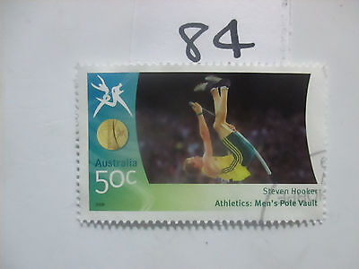N o -84--2006 COMMONWEALTH  GAMES  -USED  50c  VALUES  ---A1  ORDER