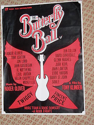 THE BUTTERFLY BALL.....Original  film poster..(UK)..1977....PINK FLOYD & ors