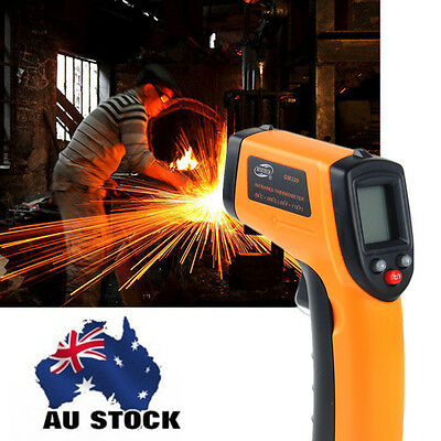 Handhelp Non-Contact Laser Digitial InfraRed Thermometer Temprature Temp Gun 380