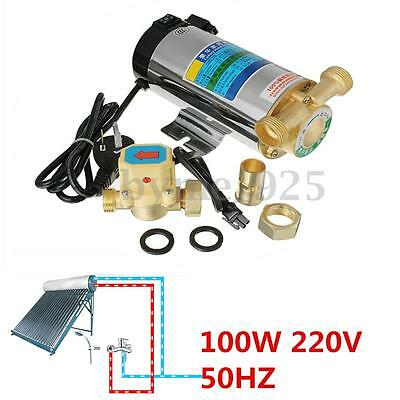 220V 100W Stainless Automatic Home Shower Washing Machine Water Booster Pump