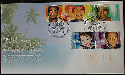 Face of Cocos Islands FDC 2000