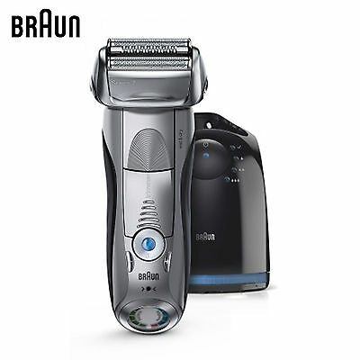 Braun Series 7 7899CC Wet & Dry with Clean Charge System Men's Electric Shaver
