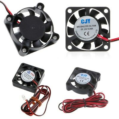 DC 24V 40mm Brushless Cooling Fan 4010S 40x40x10mm CPU GPU 3D Printer Extruder