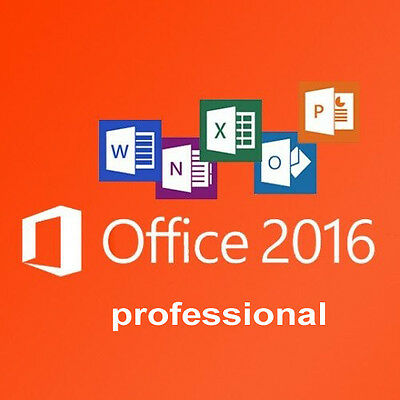 Office Professional Plus 2016 32 /64Bit License Product Key