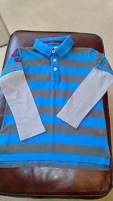 Boy's Long Sleeved Top From Mini Boden - Size 5-6 Years