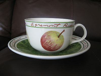 Lovely Royal Stafford Apple Cup And Saucer