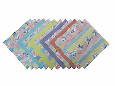 Floral Patterned Papers (12 Sheets)