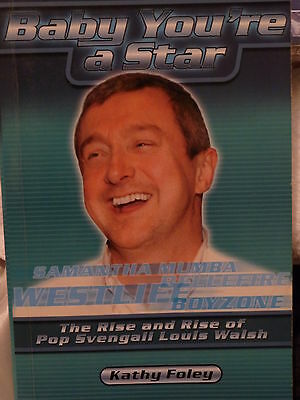Louis Walsh  unofficial autobiography Baby Your A Star by Kathy Foley
