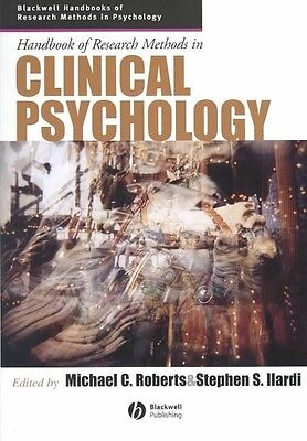 Handbook of Research Methods in Clinical Psychology by Michael Roberts Hardcover