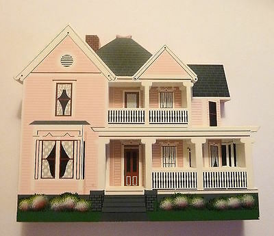 Shelia's Collectible Houses Newton Home, Knoxville Tennessee Shelf Sitter 1996