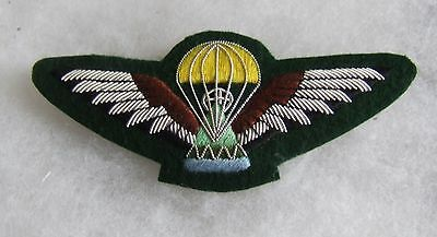 South African Lesotho Army Airborne Advanced Parachute Jump Wing