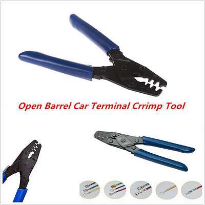 dr open barrel automotive terminal crimp tool wiring harness excellent car crimp tool wiring harness crimper dr 1 open barrel 10 22 awg