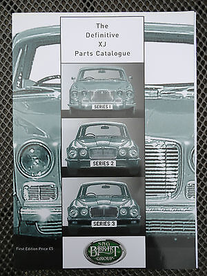 THE DEFINITIVE XJ JAGUAR PARTS CATALOGUE from S-N-G BARRATT GROUP