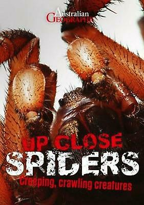 Australian Geographic Up Close Spiders by Kathy Riley Paperback Book