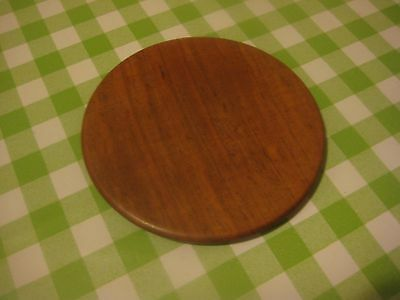Antique Chinese Wooden Large Ginger Jar Lid ONLY