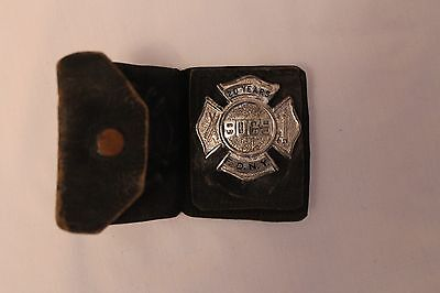 Genuine 20 Years Service Badge For Nyfd New York Fire Department