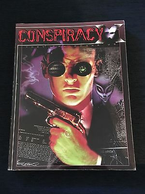 Conspiracy X Roleplaying game (RPG) Book - First edition - NME