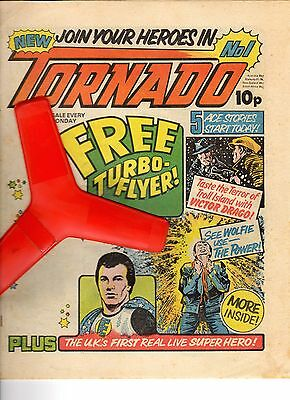TORNADO  Issues No.1 to 2 UK COMICS  Great Condition