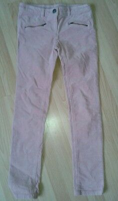 NEXT Girls Pink skinny corduroy Trousers jeans - Age 10