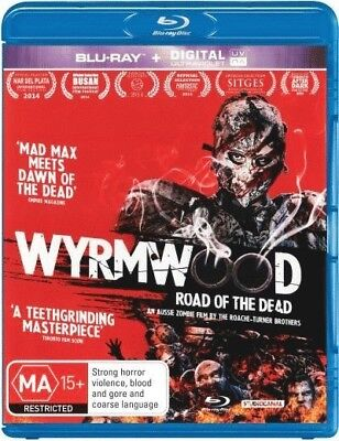 Wyrmwood Road of the Dead Blu-ray [Region B] [New]
