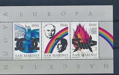 D80488 Dove Chains Famous People S/S MNH San Marino
